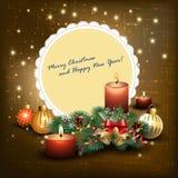 Cumprimentos do Natal Imagem de Stock
