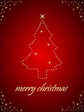 Cumprimentos do Natal Foto de Stock