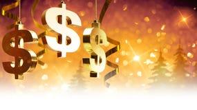 Cumprimentos do Natal para o negócio Imagens de Stock Royalty Free