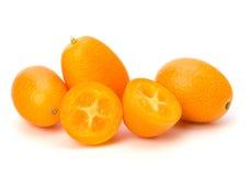Cumquat或金桔 图库摄影
