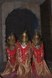 Cumuje i chrześcijanie Peniscola Wrzesień 21, 2014 Zdjęcia Stock