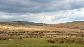 Cumuje krajobraz, Devon i Cornwall, Zdjęcia Royalty Free