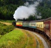 cumuje północnego kolejowego Yorkshire obraz royalty free