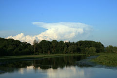 cumulonimbus Royaltyfri Fotografi