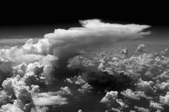 Cumulonimbus. Cloud, developning storm cell Royalty Free Stock Image