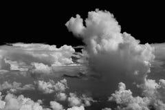 Cumulonimbus. Cloud, developning storm cell Stock Photography