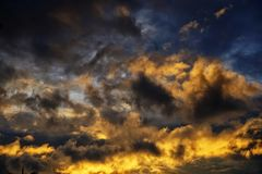 cumulonimbus Стоковые Фото