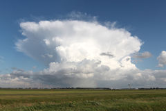 Cumulonimbus capillatus royalty free stock photos