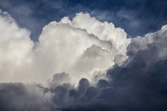 Cumulonimbus closeup Royalty Free Stock Photography