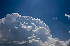 Cumulonimbus cloud Royalty Free Stock Photos