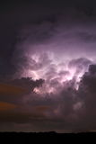 Cumulonimbus cloud with lightning Royalty Free Stock Photo