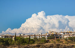 Cumulonimbus Cloud, Spain Stock Images