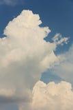 Cumulonimbus clouds Stock Image