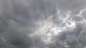 Cumulonimbus Clouds stock footage