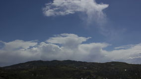 Cumulonimbus clouds timelapse stock video