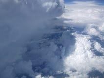 Cumulonimbus gezwollen wolken Royalty-vrije Stock Afbeelding