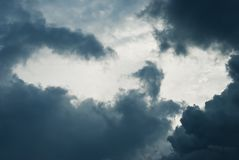 Cumulonimbus Royalty Free Stock Photo