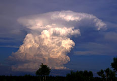 Cumulonimbus. Royalty Free Stock Photos