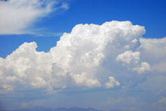 Cumulonimbus cloud formation over Las Vegas, Nevada. Royalty Free Stock Image