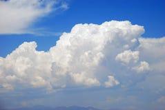 Cumulonimbus cloud formation over Las Vegas, Nevada. Image shows cumulonimbus cloud formation over mountains surrounding Las Vegas, Nevada. Some rainfall can be royalty free stock image