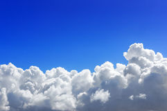 Cumulonimbus stormy cloud Stock Photography