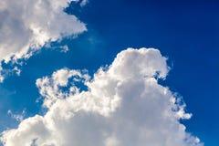 Cumulonimbus wolk Royalty-vrije Stock Fotografie