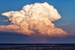 Cumulonimbus wolk Royalty-vrije Stock Foto