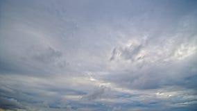 Cumulonimbus wolken stock footage