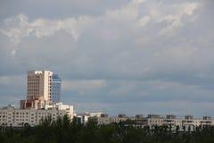 Cumulonimbusmoln Arkivfoto