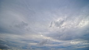 Cumulonimbuswolken stock footage