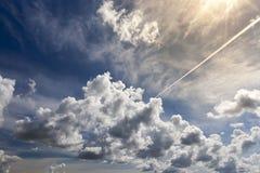 Cumulus énormes photo stock