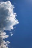 cumulus royaltyfri foto