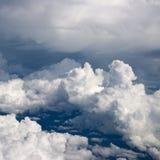 Cumulus royaltyfri fotografi