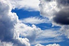 Cumulus arkivbild