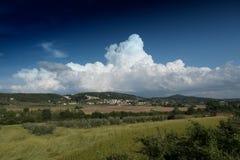 cumulus arkivfoto