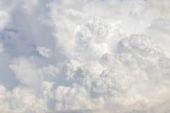 Cumulus chmur tło Zdjęcie Royalty Free