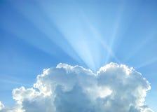 Cumulus chmura Obrazy Stock