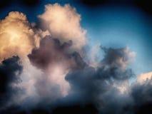 Cumulus chmury Zdjęcia Royalty Free