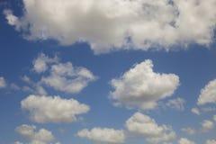 Cumulus chmury Zdjęcie Stock