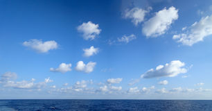 Cumulus chmury zdjęcie royalty free