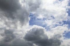 Cumulus chmury Zdjęcia Stock