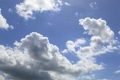 Cumulus chmury Obrazy Royalty Free