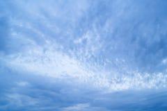 Cumulus chmury w niebie Fotografia Royalty Free