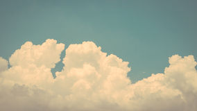 Cumulus cloud Royalty Free Stock Images