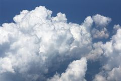 Cumulus cloud formation Stock Photography