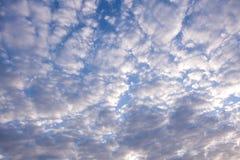 Cumulus cloud formation on blue sky. Cumulus cloud formation on blue sky background Stock Photography
