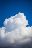 Cumulus cloud over blue sky Stock Image