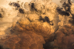 Cumulus cloud texture Royalty Free Stock Photography
