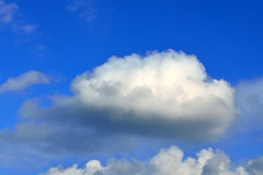 Cumulus cloud Royalty Free Stock Image