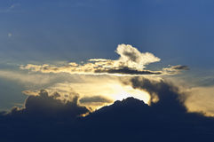 Cumulus clouds Royalty Free Stock Photography